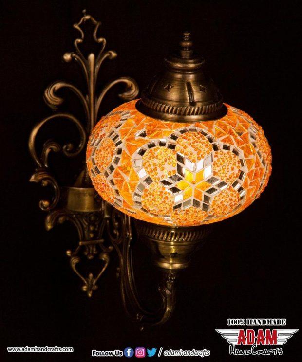 Mosaic Wall Lamp Sconces Singles (Large)