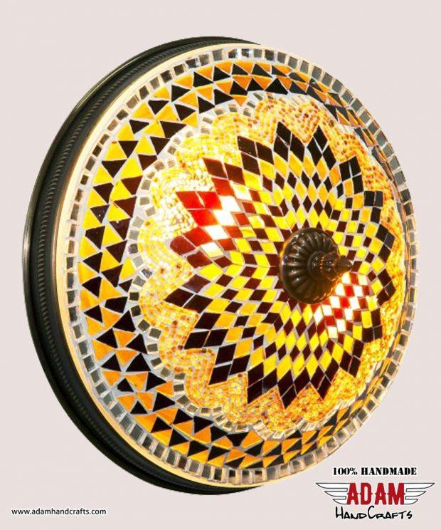 Mosaic Wall Lamps Circle