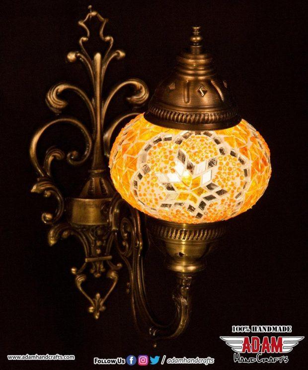 Mosaic Wall Lamp Sconces Singles (Medium)