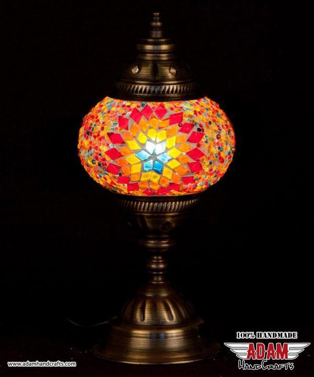 Regular Mosaic Table Lamp (Medium)