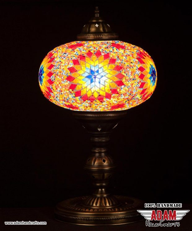 Regular Mosaic Table Lamp (X Large)