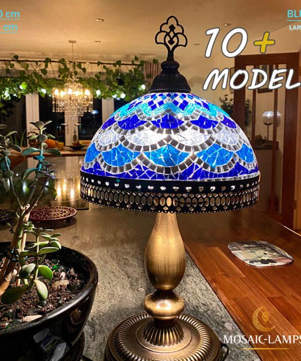 Mosaic Tiffany Table Lamp